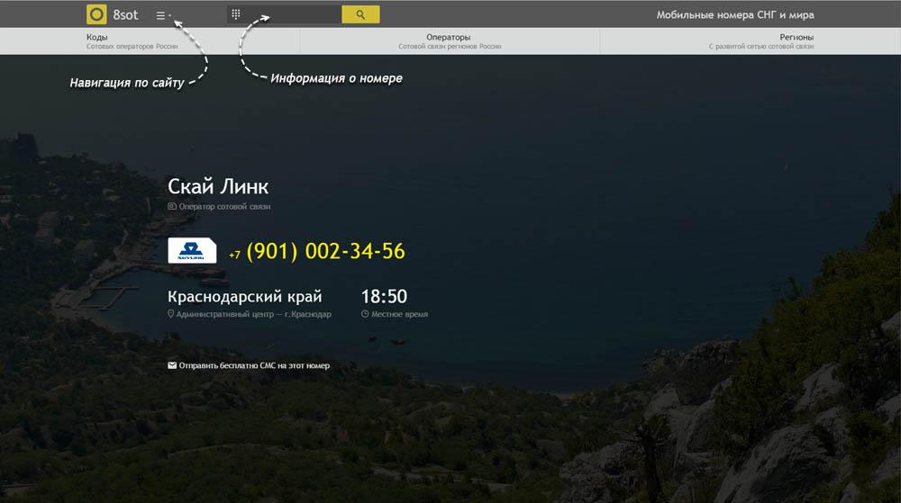 Код 901 — какой оператор и регион сотовой связи у номера