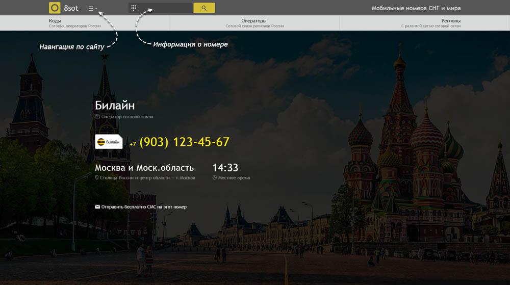 Код 903 — какой оператор и регион сотовой связи у номера