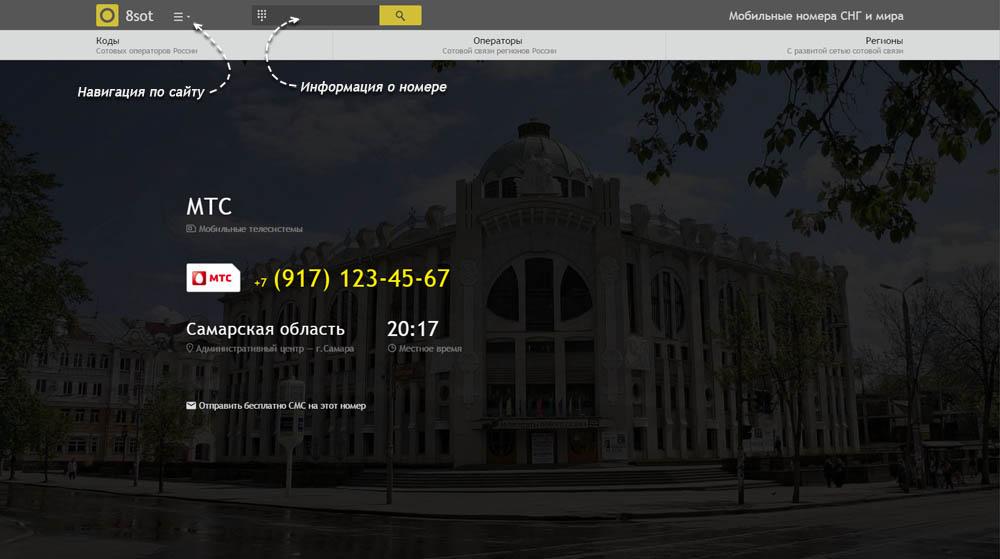 Код 917 — какой оператор и регион сотовой связи у номера