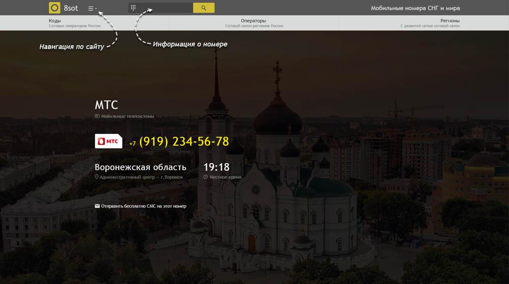 Код 919 — какой оператор и регион сотовой связи у номера