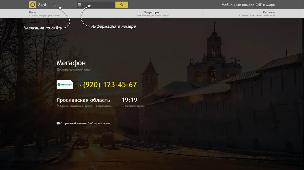 Код 920 — какой оператор и регион сотовой связи у номера