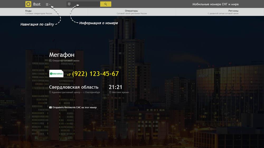 Код 922 — какой оператор и регион сотовой связи у номера