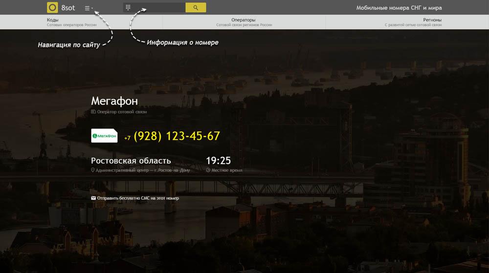 Код 928 — какой оператор и регион сотовой связи у номера