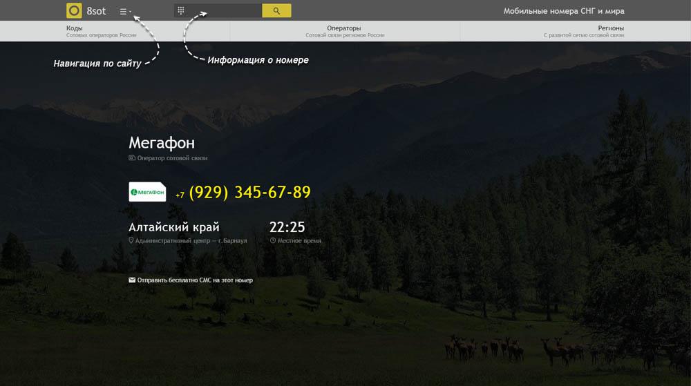 Код 929 — какой оператор и регион сотовой связи у номера