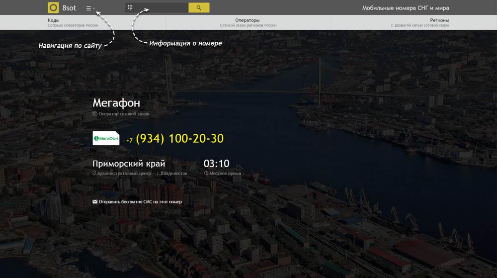 Код 934 — какой оператор и регион сотовой связи у номера