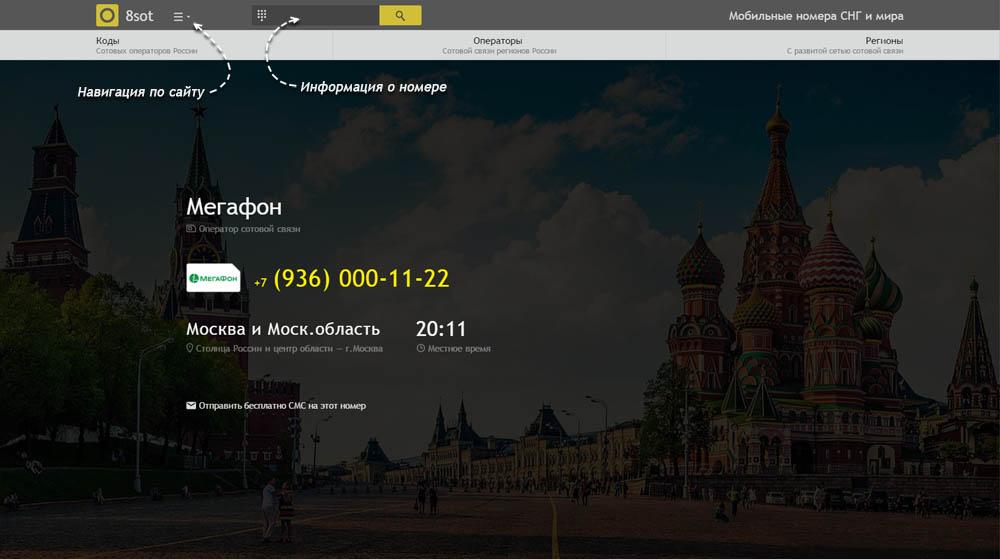 Код 936 — какой оператор и регион сотовой связи у номера
