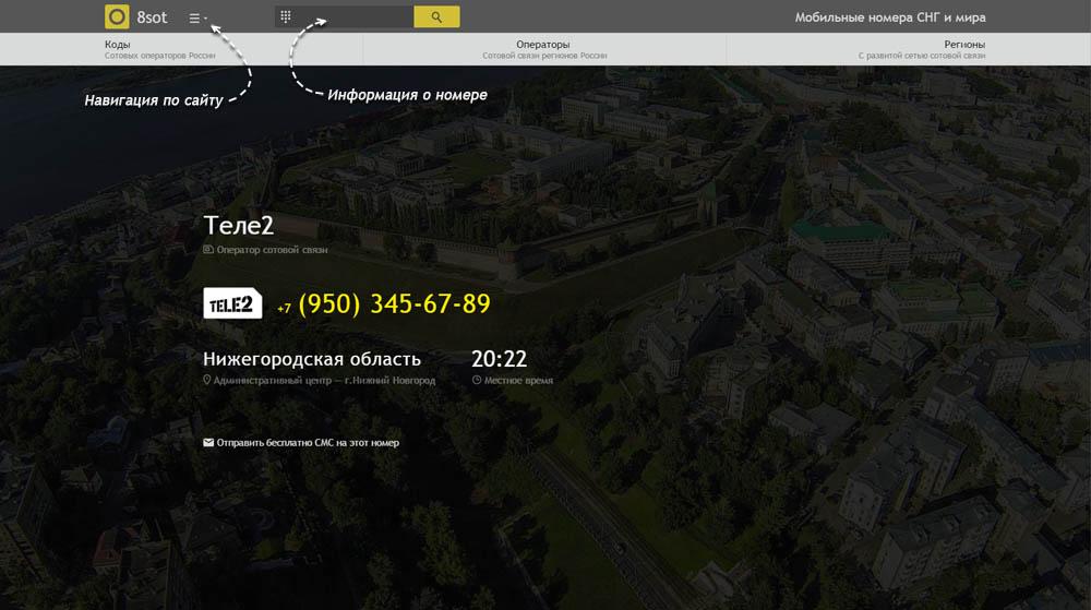 Код 950 — какой оператор и регион сотовой связи у номера