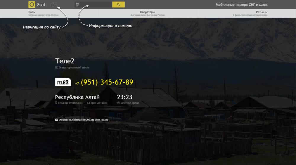 Код 951 — какой оператор и регион сотовой связи у номера