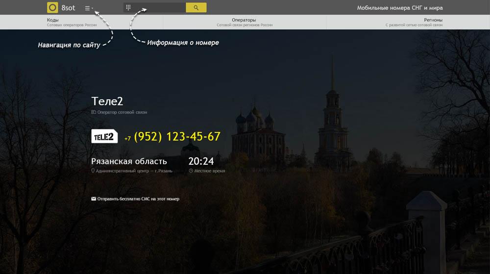 Код 952 — какой оператор и регион сотовой связи у номера