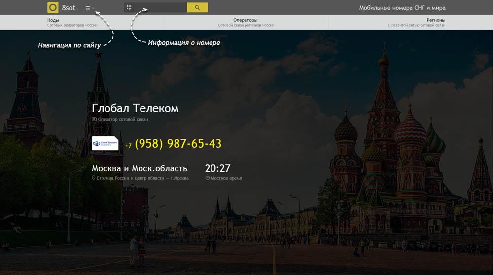 Код 958 — какой оператор и регион сотовой связи у номера