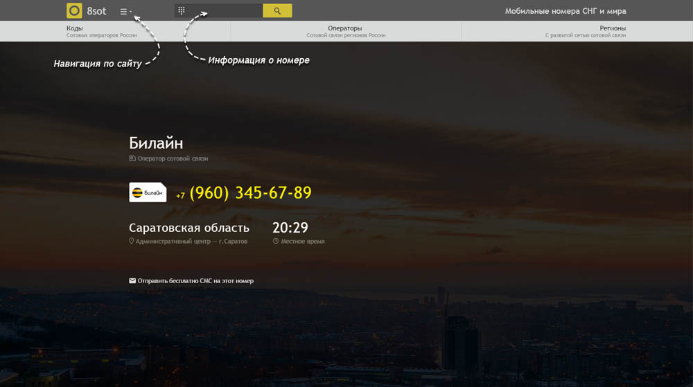Код 960 — какой оператор и регион сотовой связи у номера