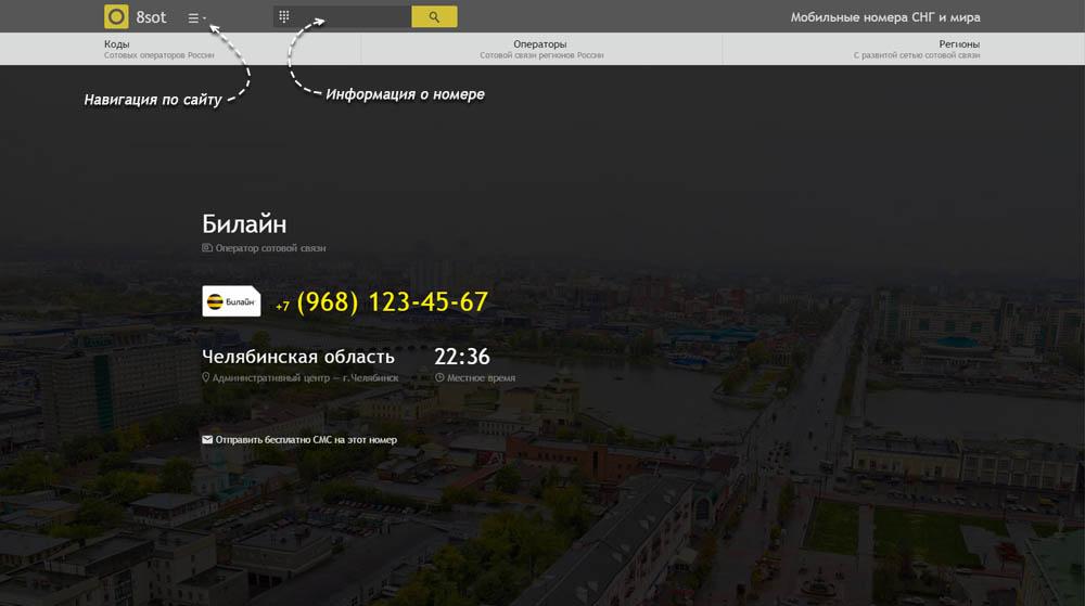 Код 968 — какой оператор и регион сотовой связи у номера