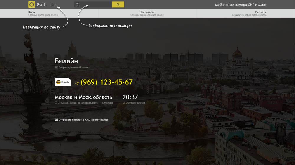 Код 969 — какой оператор и регион сотовой связи у номера