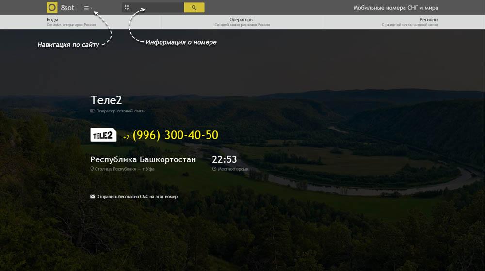 Код 996 — какой оператор и регион сотовой связи у номера